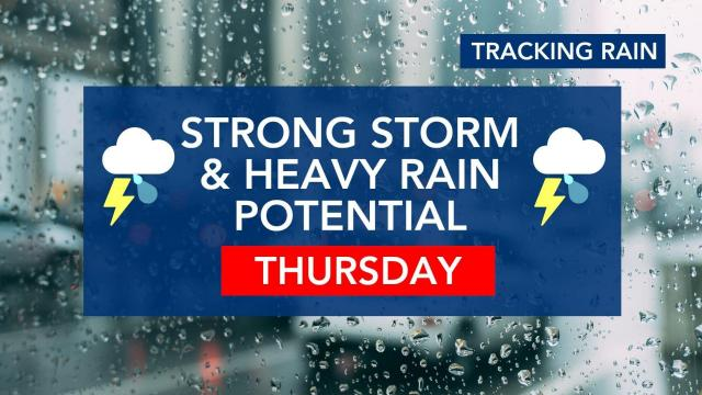 Severe weather, heavy rain likely later this week