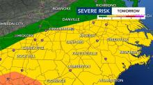 IMAGES: Isolated tornadoes, heavy rain possible with Thursday's severe weather