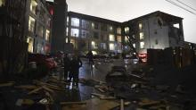 IMAGES: 24 people are dead after a tornado ripped through Tennessee and destroyed numerous homes