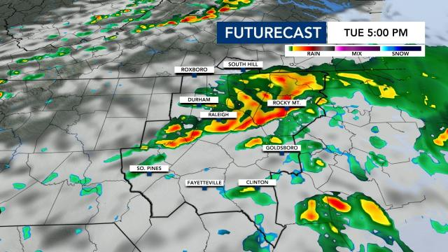 Storms Possible