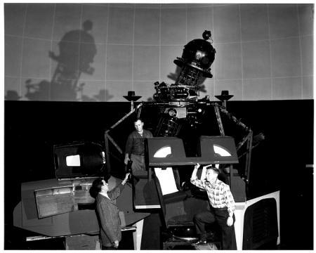 Astronaut training at Morehead Planetarium
