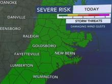Threat of storms, rain continue Saturday night