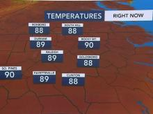 Severe weather potential Thursday as Triangle sees 90 degree temps