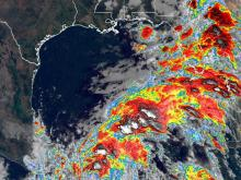 Tropical depression Cristobal is expected to turn back toward the US coast and re-intensify.