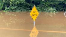IMAGES: Flooded yards, roads in northeastern counties