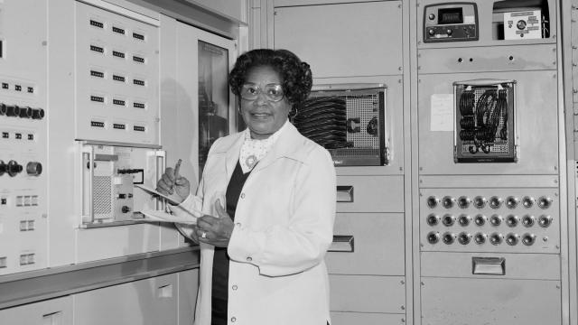 Mary Jackson grew up in Hampton, Virginia. After graduating with highest honors from high school, she then continued her education at Hampton Institute, earning her Bachelor of Science Degrees in Mathematics and Physical Science. Following graduation, Mary taught in Maryland prior to joining NASA. Mary retired from the NASA Langley Research Center in 1985 as an Aeronautical Engineer after 34 years. (Image: NASA)