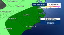 IMAGES: Likelihood of rain only slight through Thursday night