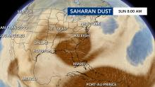 IMAGES: Saharan dust arrives in the US