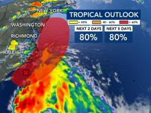 Chances increasing tropical system will form off NC coast