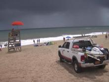 Tropical Storm fay forms off NC coast