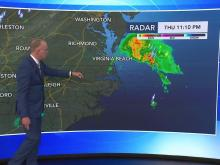 Tropical Storm Fay moving away from the area, hot days ahead