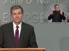 Gov. Cooper outlines state preparation for Hurricane Isaias