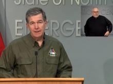 Cooper speaks, WRAL surveys damage, cleanup after Hurricane Isaias