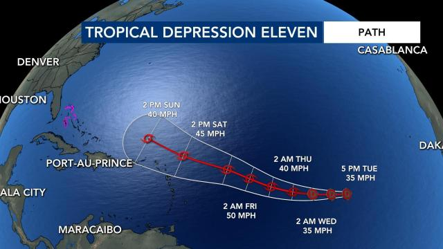 Another system could be forming in the tropics