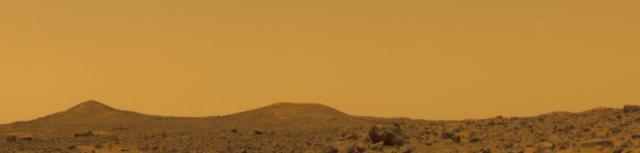 Mars Pathfinder in Ares Vallis (Image: NASA/JPL)