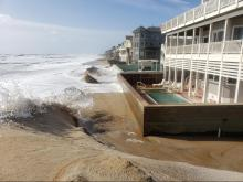 PHOTOS: Flooding in the Outer Banks caused by Hurricane Teddy