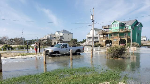 Flooding in Avon on Sept. 20