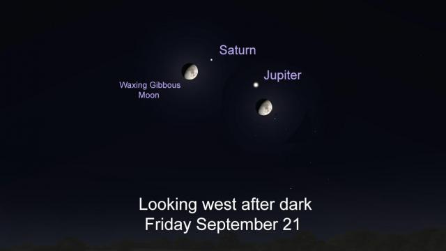 Whats up in the sky for the week of September 21