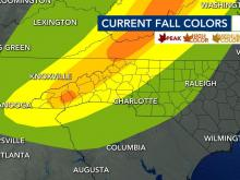 Tracking fall color, Oct. 1, 2020