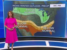 Winter outlook: Warmer than normal, but wet
