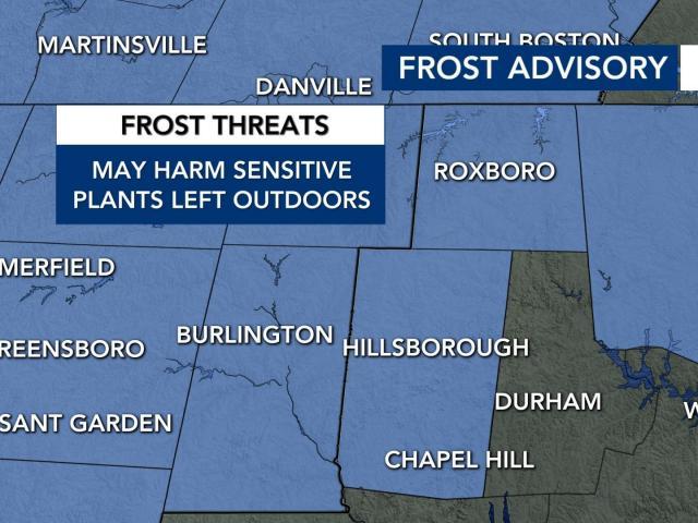 Frost advisory (Oct. 17, 2020)