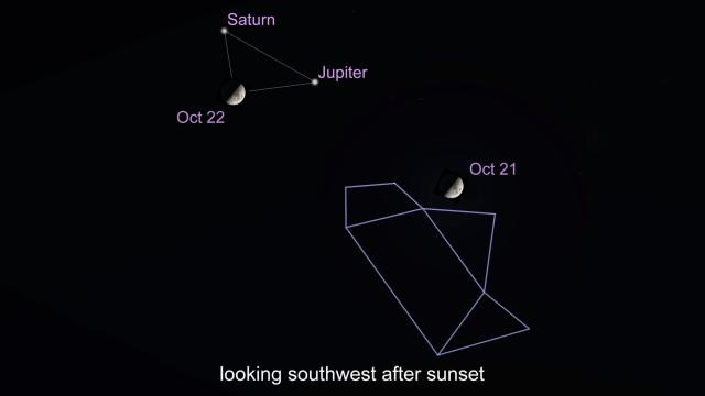 What's up in the Sky October 18-24