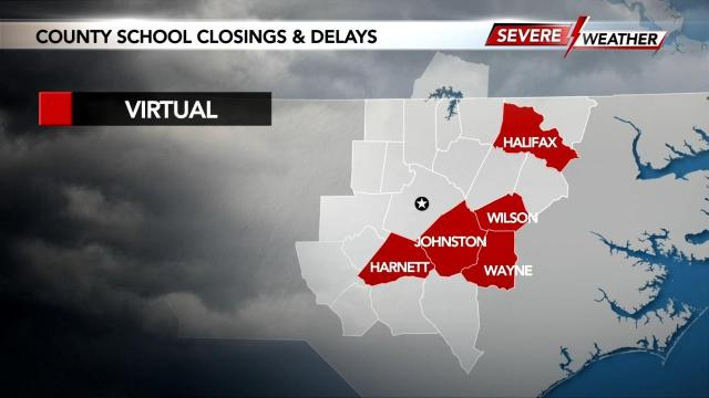 Schools delayed or closed on Friday, Nov. 13, 2020