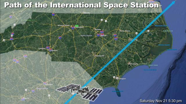 ISS Path