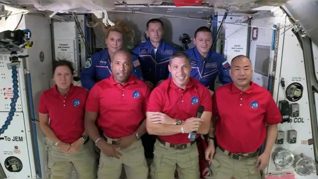 Thanksgiving aboard the International Space Station