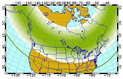 Auroral Forecast for Dec 10, 2020 (University of Alaska, Fairbanks)