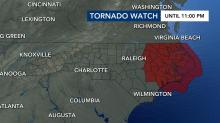 IMAGES: Severe storms move out of the Triangle, flooding still possible