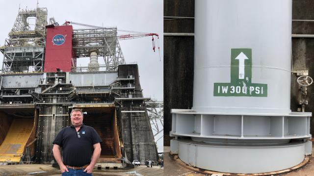 B-2 Test Stand at Stennis Space Center in Mississippi