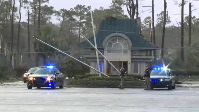 Sheriff: At least 3 people were killed when a hurricane hit Brunswick