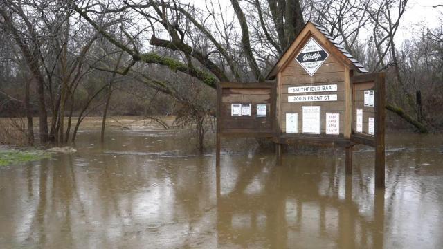 Neuse River in Smithfield