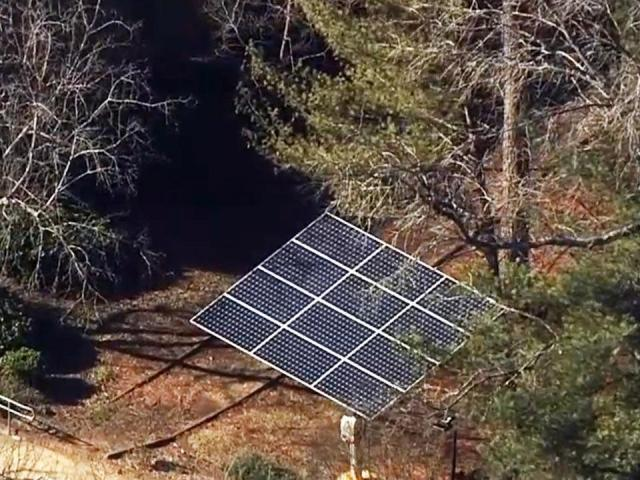 Athens Drive Magnet High School is the first school in Wake County to have a solar array system, consisting of 12 solar panels, through NC GreenPower Solar+ Schools, a non-profit grant.