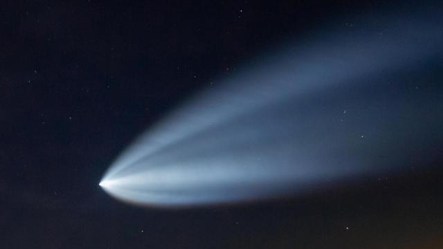 SpaceX launch may be visible from NC after sunset