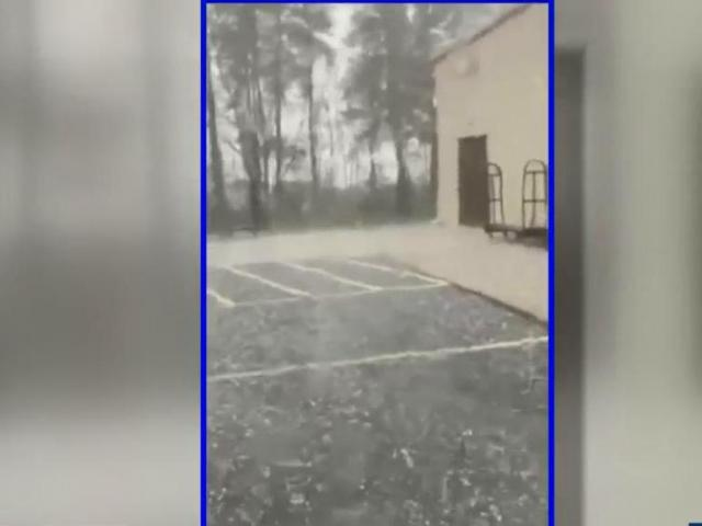 Hail, flooding throughout central NC as more severe weather awaits on Saturday :: WRAL.com