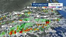 IMAGES: More storms could arrive to impact Tuesday commute