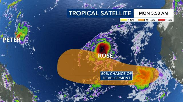 Tropics outlook: Tuesday, Sept. 21