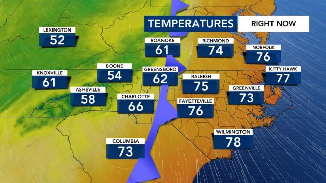 WRAL Weather Feed: Mike Maze