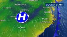 IMAGES: Pleasant fall temperatures will continue for days