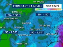 Precipitación pronosticada