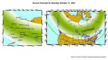 IMAGES: Solar flare could make aurora visible across the northern U.S.
