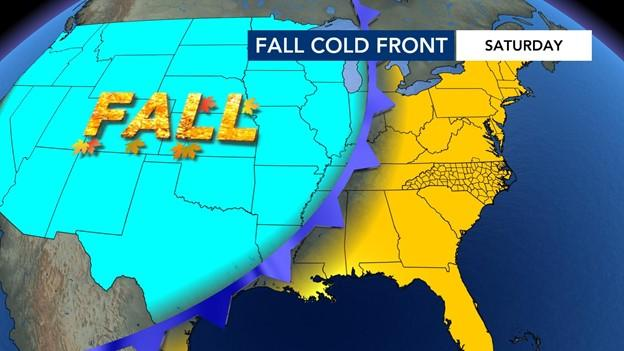 Fall makes a comeback this weekend