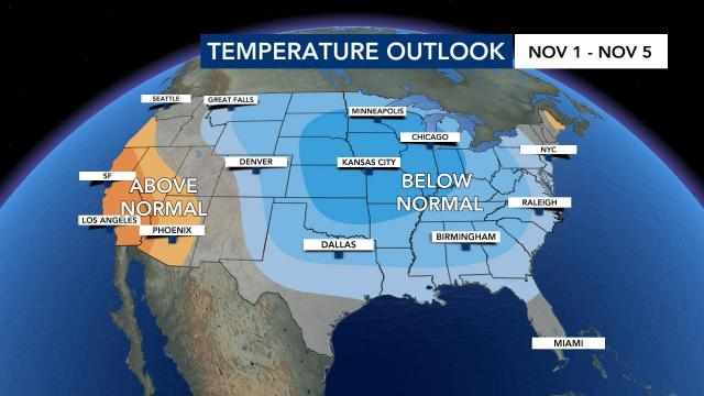 When will the cold weather return? This October was one of the hottest on record