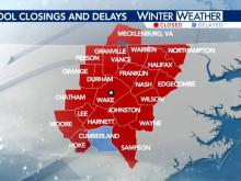 School district closings and delays