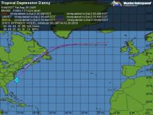 Models and tracking for the latest tropical storm.