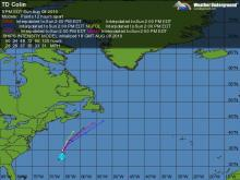 Tropical Storm Colin maps and models