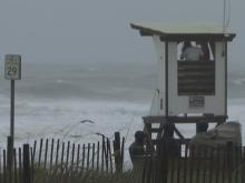 Waves at Wrightsville Beach