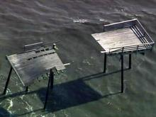 Sky 5: Irene damage at Cape Hatteras